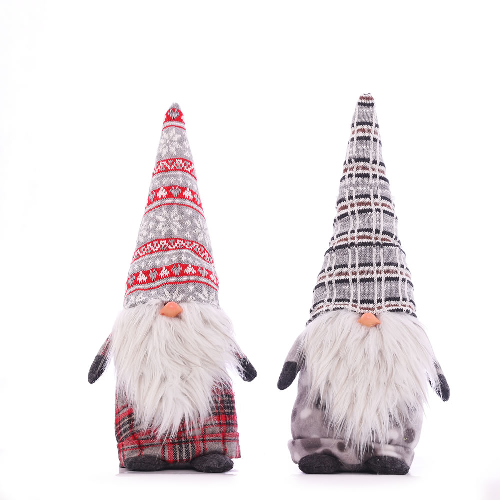 Christmas Gnome Decor.Us 10 29 45 Off Christmas Gnome Ornaments Santa Claus Doll Swedish Tomte For Home Table Decor Christmas Tree Holiday Xmas Decoration 14inch Hat In