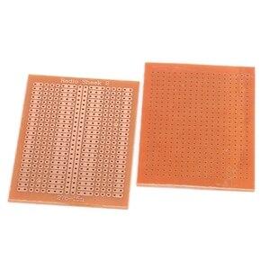 Image 5 - 10 Pcs 5x7cm DIY Prototype נייר PCB האוניברסלי מטריקס ניסוי מעגל לוח מגן