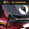 Free shipping Carbon fiber Car accessories Car Roof Spoiler for Porsche Cayenne