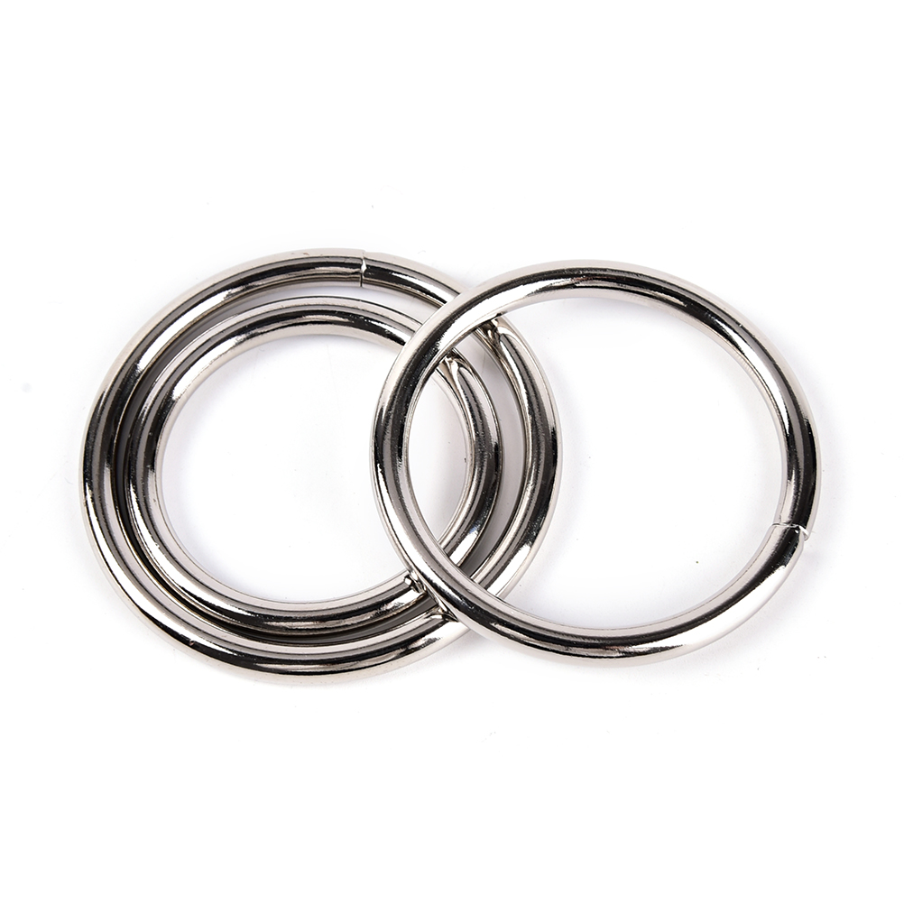 1pcs Diameter 38/40/50mm Aluminum Alloy Metal Penis Ring Delay Ejaculation Cock Ring Sex Toys For Men Erotic Games Cockring