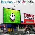 Leeman P10 открытый светодиодные панели p10 Коммерческая Реклама Полноцветный СВЕТОДИОДНЫЙ Дисплей Digital Signage