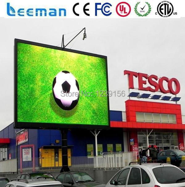 Leeman P10 outdoor led panel p10 Commercial Advertising Full Color LED Digital Signage Display
