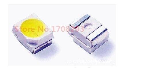 SMD 3528 LED chip white 100pcs 7 8lm pcs Color 6000 6500K or 3000 3500k 4000