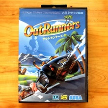 Out Runners 16 Bit MD Game Card with Retail Box for Sega MegaDrive & Genesis Video Game console system