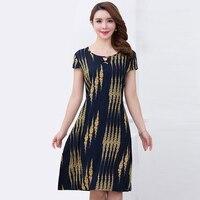 b1197855c321b Aliexpress.com : Buy 2017 Women's Summer Dress Cotton Plus size 3XL ...