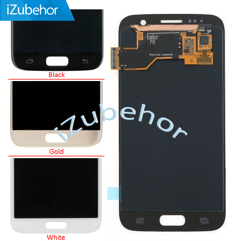 LCD <font><b>display</b></font> touch screen digitizer assembly for <font><b>Samsung</b></font> <font><b>Galaxy</b></font> <font><b>S7</b></font> SM G930 LCD G930F G930A G930V G930P G930T G930R4 G930W8 image