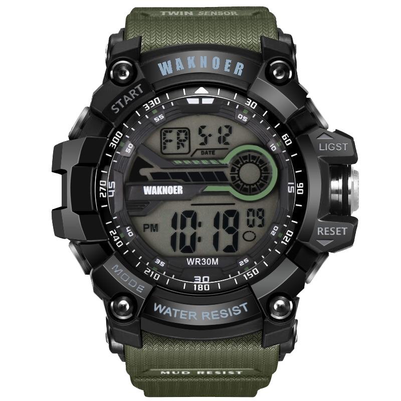 Logisch Waknoer Sport Männer Uhr Männer Uhr Multifunktions Wasserdichte Digitale Uhr Mode Herren Watces Uhr Uhren Para Hombre Relogio Kaufen Sie Immer Gut Uhren