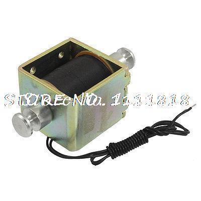 цена на DC 24V 0.66A 2mm 2kg Actuator Linear Push Solenoid Electromagnet