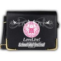 Japan Anime Love Live School Idol Festival Women Girls Magic Book Lolita JK Student Handbag Shoulder Bag Gift Flap
