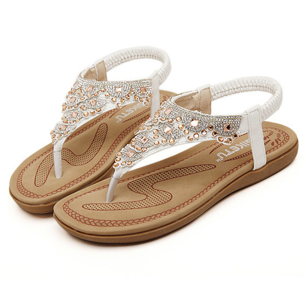 New Rome Women Sandals Fashion Summer Ladies Shoes Bohemia Gladiator Beach Flat Casual Sandals Leisure Female Ladies Sandals  10New Rome Women Sandals Fashion Summer Ladies Shoes Bohemia Gladiator Beach Flat Casual Sandals Leisure Female Ladies Sandals  10