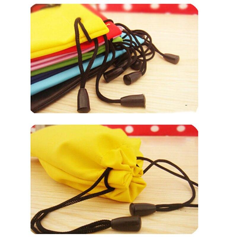 5pcs/lot Multi-Functional  Wholesale Glasses Pouch Glasses Soft Cloth Bags Waterproof Sunglasses Pouch Bags Multicolor