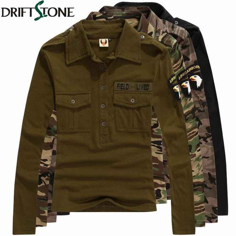 Women military t shirts casual long sleeve army combat for Women s 100 cotton long sleeve tee shirts