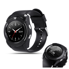 Original Sport Watch Full Screen Smart Watch V8 For Android Match Smartphone Support TF SIM Card