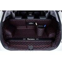 Car Believe car trunk mat For hyundai tucson 2019 2016 2008 elantra 2018 creta santa fe Cargo Liner Interior Accessories Carpet