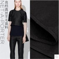 2017 Mulberry Silk Wool Blended Fabric The Cloth Coat Clothing Material Bedding Textile Fabrics For Sewing
