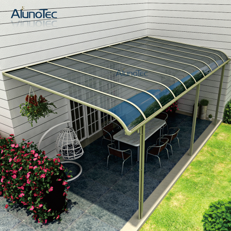 Polycarbonated Couverture De Toit Jardin Balcon Patio Couvert Auvent