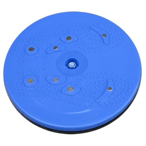 JHO-Twist Waist Disc Aerobic Exercise Fitness Reflexology Magnets - Blue ...