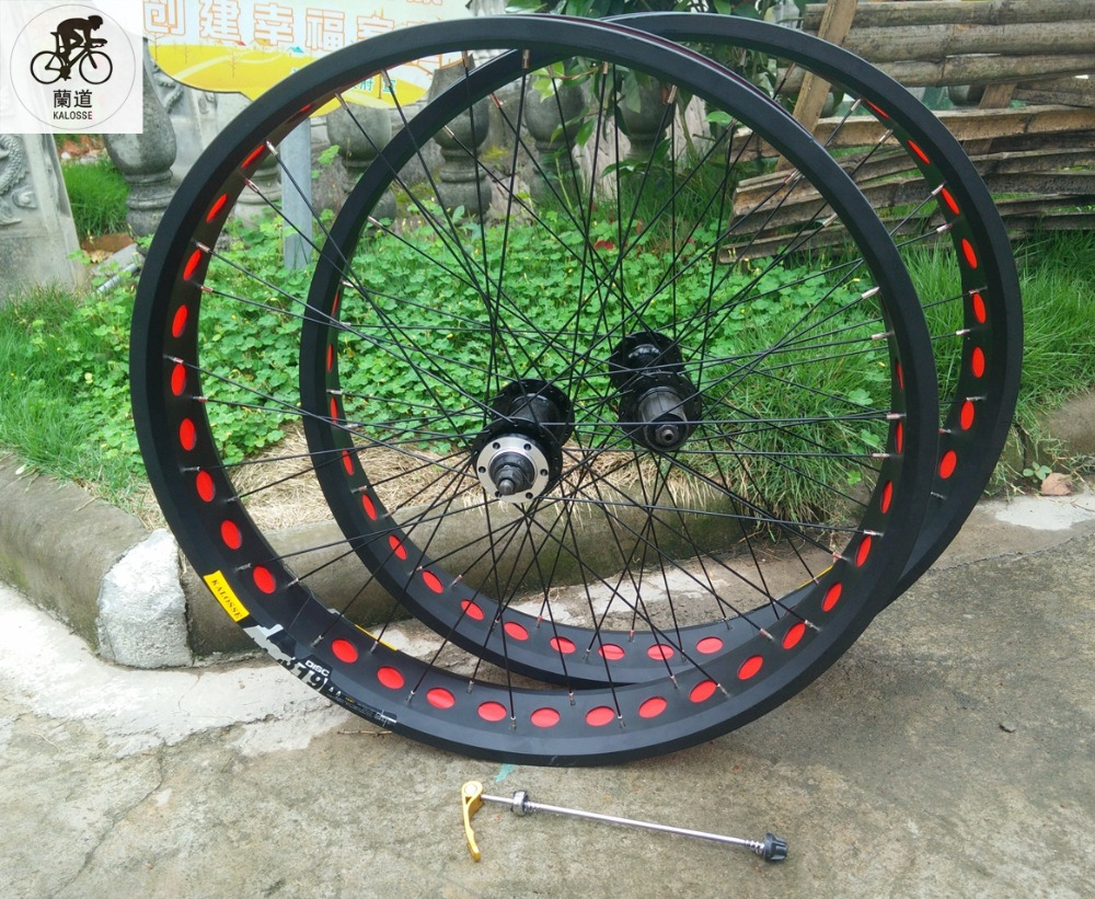 Kalosse Disc Brakes F135 R190mm Hubs Wheels 36 Holes