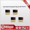 4 шт. для HP 970xl 971xl ARC Chip для HP Officejet Pro X451dn/X451dw/X476dn/X476dw/X551dw/X576dw