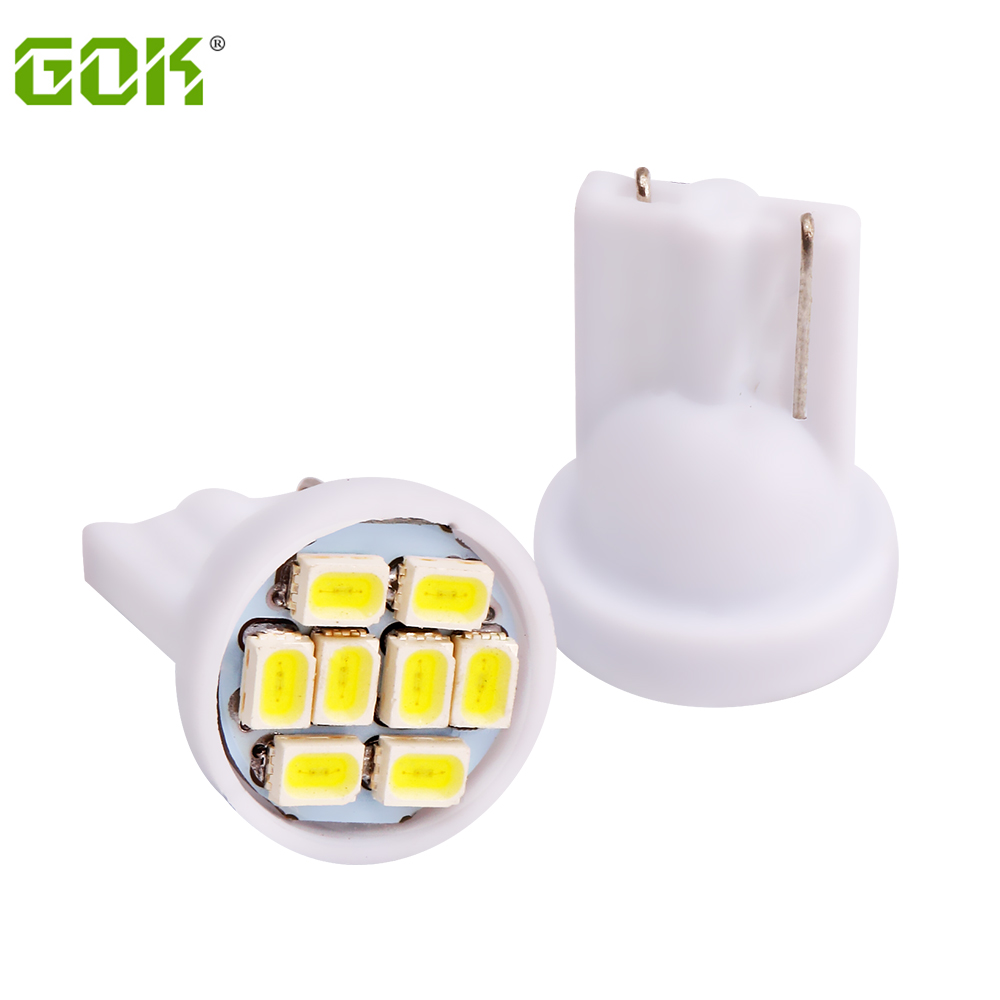 Wholesale 100pcs/lot T10 8smd 194 168 192 w5w 1206 smd t10 8led Smd Super Bright Auto Led Car led Lighting/t10 led Wedge Lamp itimo 10x t10 194 168 w5w 360 degree
