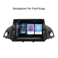 ECTWODVD 9inch Android 8.1 Car Radio GPS Navigation Multimedia Stereo DVD Player for For Ford Kuga 2013 2014 2015
