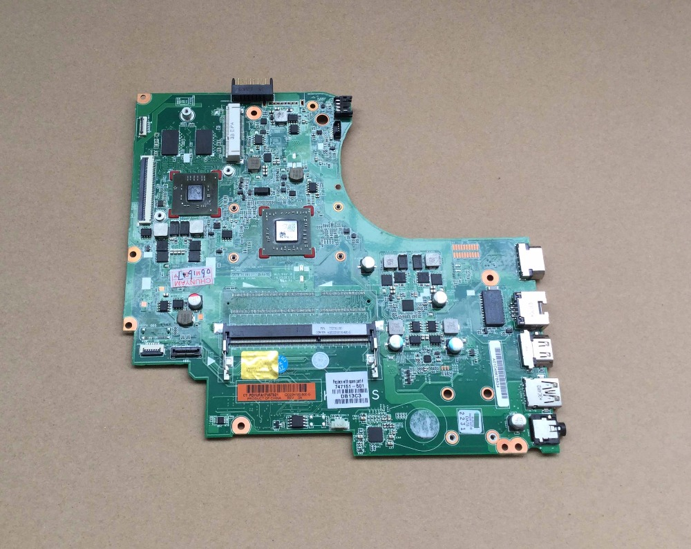 747151-001 747151-601 747151-501 for HP 15-D 255 G2 Notebook for 255 laptop motherboard for AMD A4-5000 DDR3 Fully tested galenson white servitude in colonial america