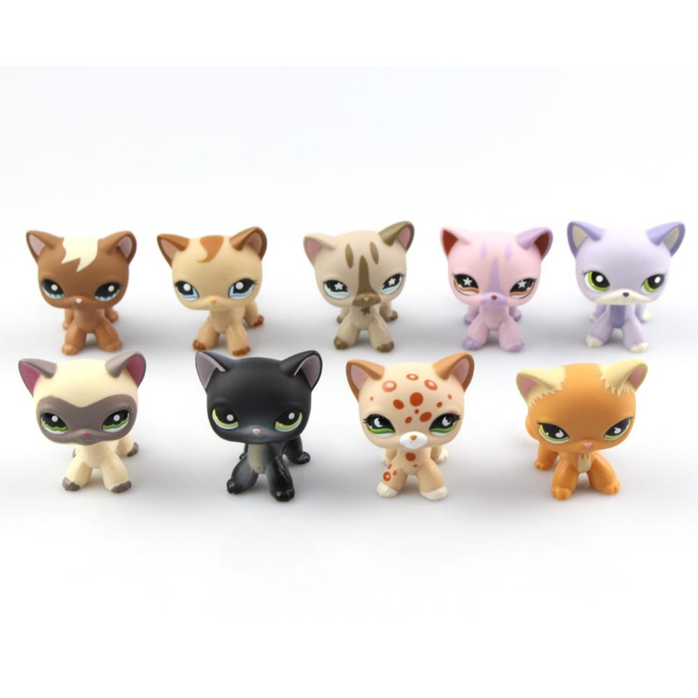 Toy bag Little Pet Shop Mini Toy Littlest Animal Cat dog Action Figures Kids toys Cartoon