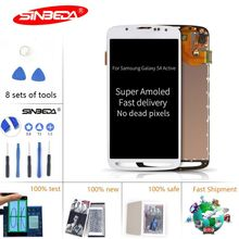 Sinbeda Super AMOLED LCD For Samsung Galaxy S4 Active Display i9295 i537 Touch Screen Assembly With Digitizer