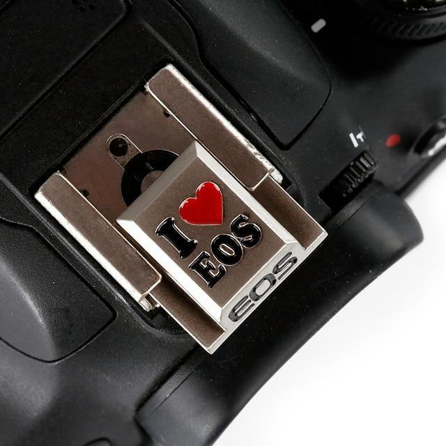 MÁY ẢNH DSLR Flash Hot Shoe Cover Thay Thế cho Canon 700D EOS M3 Nikon Samsung Panasonic Olympus Kim Loại Giày Lạnh Núi bao da