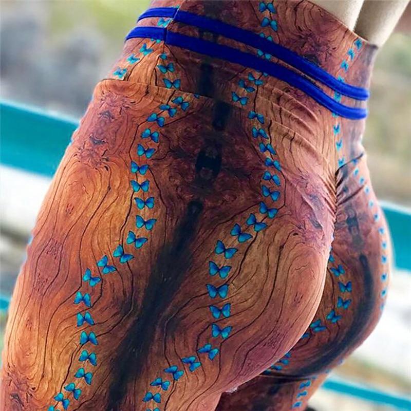 2018 bunte Traingles Gedruckt Frauen Leggings Sexy Weibliche Leggings Mujer Hosen Fitness Hohe Elastische Bodybuilding Leggins Trouse