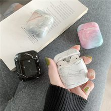 Marble Case For Airpod Case Earbud Coque Headphones Case Ear