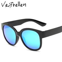 VeBrellen UV400 Gafas Gafas de Sol Mujer Diseñador de la Marca de Gran Tamaño gafas de Sol Polarizadas Hombre Mujer con Caja de Regalo VJ102