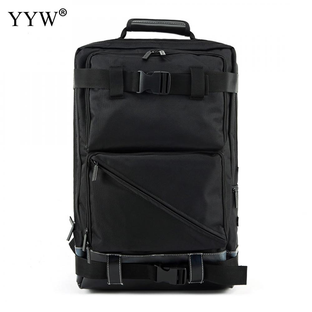 Oxford Men Backpack Gothic Anti-Theft Bags Waterproof Travel Backpack Large Capacity Black Male Luggage Shoulder Bag Mochilas yingnuost d66 anti theft multifunctional waterproof backpack digital camera shoulder oxfords with inner bag large capacity
