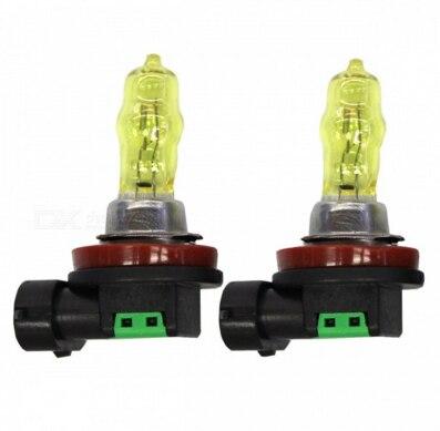 Image 3 - 2Pcs HOD H11 100W 3000K Auto fog headlights lights Golden Yellow Fog Light Bulbs For AUDI Honda hyundai Chevrolet DC/12V-in Car Fog Lamp from Automobiles & Motorcycles
