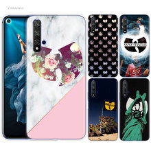 Wu Tang Clan Hip Hop Case for Huawei Honor 8X 8C 8 9 10 20 Play 8A lite Pro V20 Y9 Y7 Y6 Y5 Prime 2018 2019 TPU Phone Bags Cover(China)