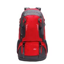 Gzl 60L водонепроницаемый рюкзак треккинг дорожные сумки Женщины Мужчины Путешествия Рюкзак Многоцелевой большой емкости большие любители сумка black8007