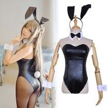 Rascal Does Not Dream of Bunny Girl Sakurajima Mai Cosplay Costume Sexy Bodysuit