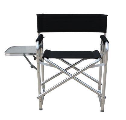 2017 plus récent Double couche coton-rembourré en alliage d'aluminium directeur chaise Portable tabouret pliant loisirs de plein air avec plate-forme