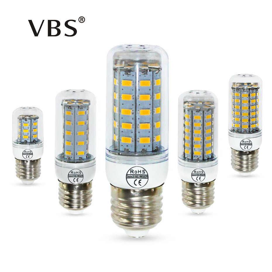 E14 LED 220v LED Bulb Light 24 36 48 56 69 Leds Lampada Spotlight 360 Degrees Lighting Warm white/Cold white led bulbs for house