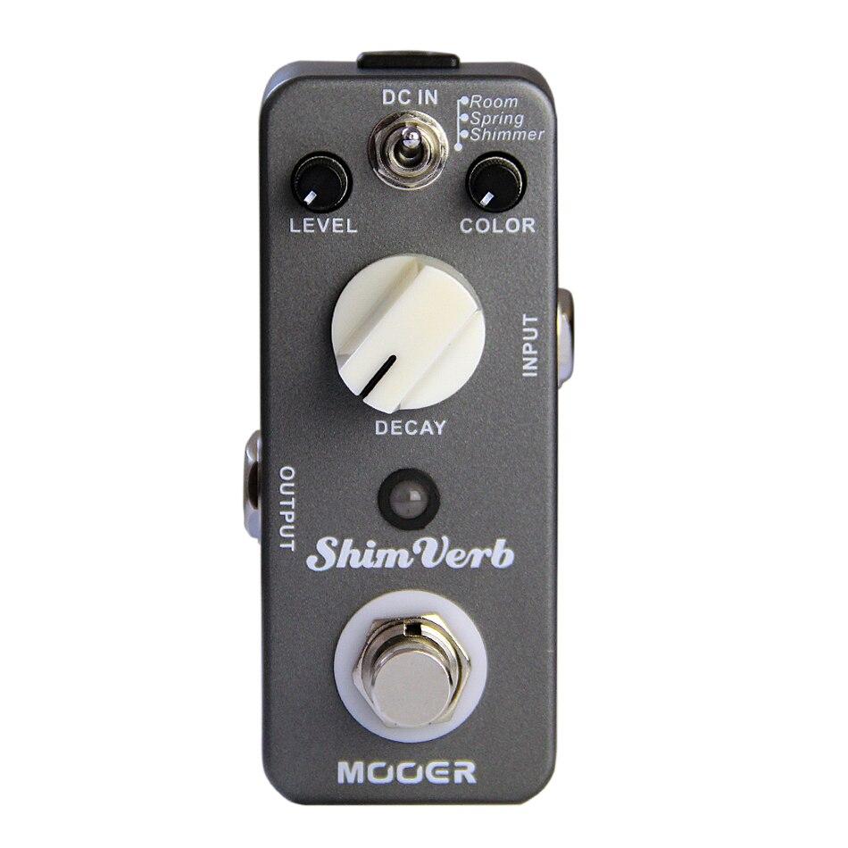 Гитарная педаль эффектов MOOER shimглагол гитарная педаль эффектов реверберация педаль True bypass отличный звук