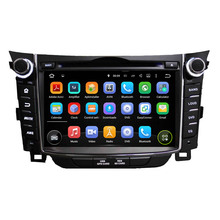 7 Inch Android 5.1 Quad Core HD1024*600 Car DVD Player For Hyundai For I30 2011-2013 Car Multimedia Stereo Free 8GB MAP Card