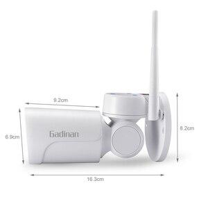 Image 2 - GADINAN フル Hd 1080 p ワイヤレススマート無線 Lan 2.8 12 ミリメートルミニ CCTV PTZ パン/チルト 4 XZoom セキュリティ IP カメラオーディオ録音 Yoosee 最大 128 グラム