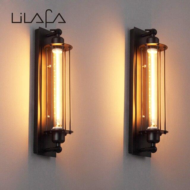 Loft Amerikaanse vintage wandlamp bed verlichting eye lantaarn ...