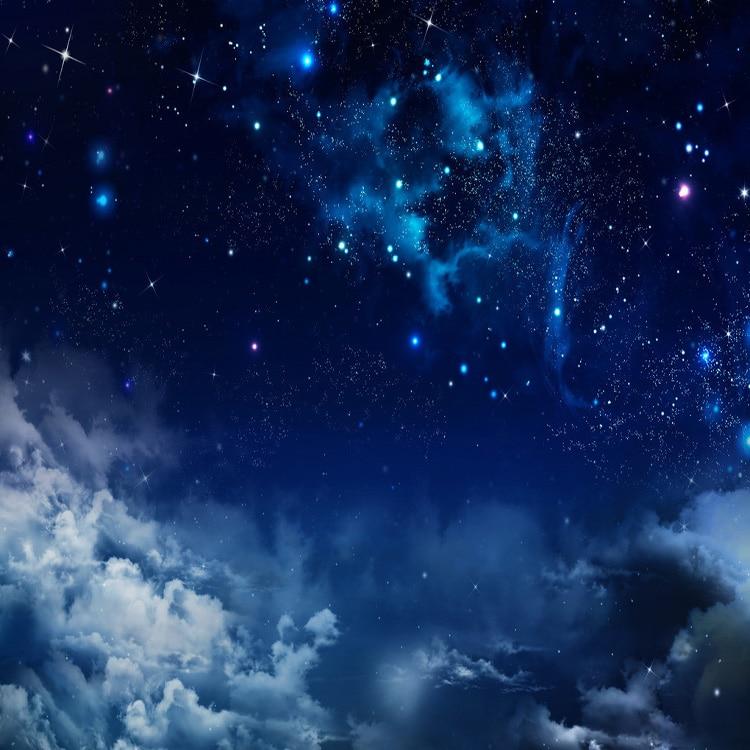 Desain Modern Bintang Langit Dunia Dari Malam Wallpaper 3d Indah Bima Sakti Dunia Untuk Hiasan Dinding Wallpaper Sky 3d Wallpaper Sky3d Sky Aliexpress