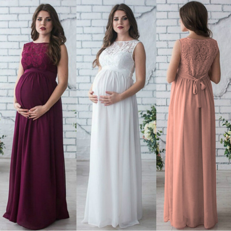 Party Wear Dress for Pregnant Lady