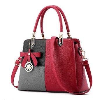 Bolsos Női táska Bőr kézitáska Női márka Tote Bag Női váll Messenger táskák Utazótáska Sac A Main Femme táska