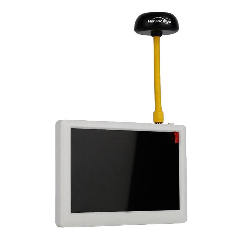 Hawkeye luciole petit pilote moniteur ecran d'affichage 5.8G 32CH récepteur blanc