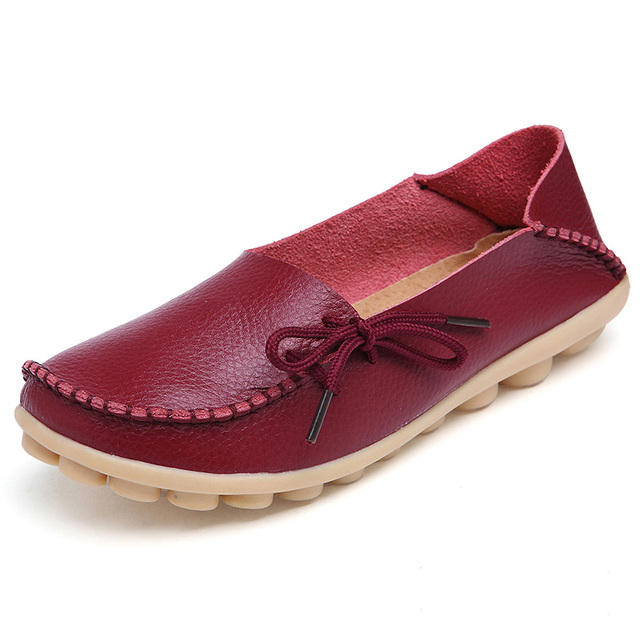 Genuine Leather Loafer Shoes