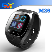 NEW M26 Bluetooth Smart Watch luxury wristwatch R watch font b smartwatch b font with Dial