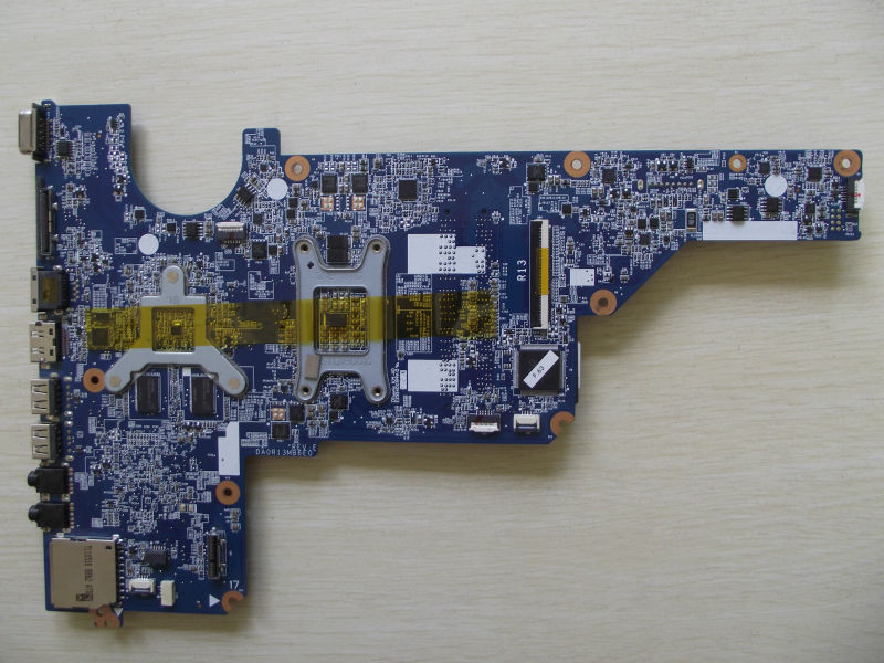 SHELI laptop Motherboard for hp G4 G6 G7 650198-001 DA0R13MB6E0 REV : E hm65 6470/512M non-integrated graphics card 100% tested